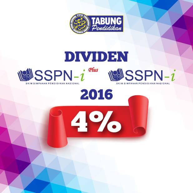 Dividen SSPN-i/SSPN-i Plus
