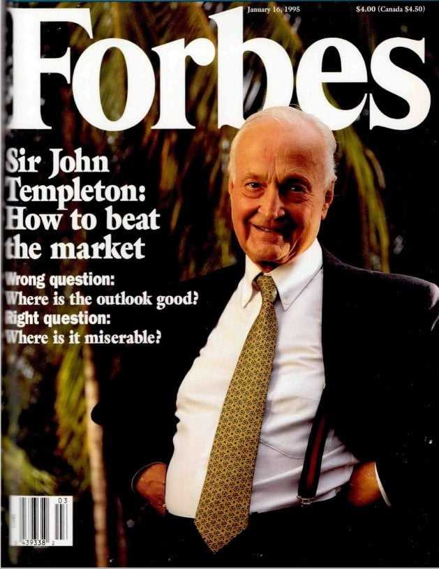Selami Kehidupan 'The Christopher Columbus Of Investors'- Sir John Templeton 3