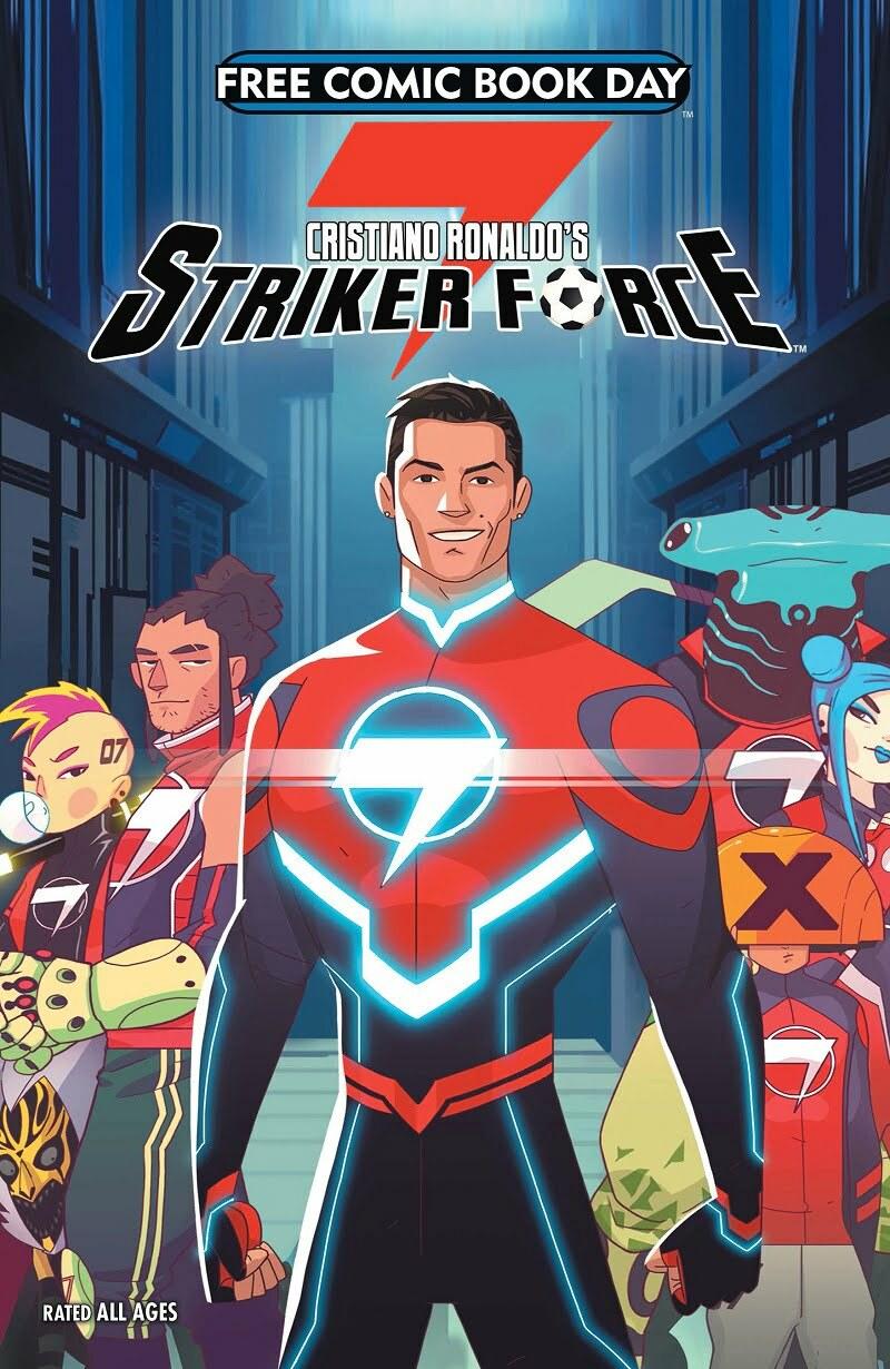 "Cristiano Ronaldo Lancar Buku Komik ""Striker Force 7"" 2"
