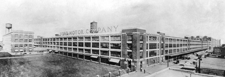 Kilang pertama milik Ford selepas kejayaan membangunkan model T yang menjadi model terlaris di dunia pada ketika itu