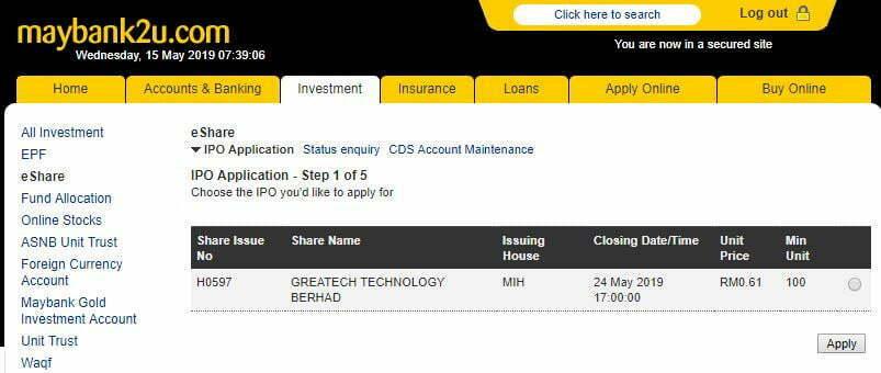 IPO Greatech Technology Berhad Dah Boleh Beli Melalui Maybank2U 10