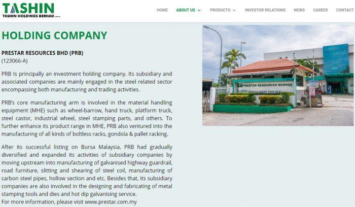 IPO Tashin Holdings Baru Dibuka, Boleh Beli Online Pada Harga RM0.58 Seunit 8