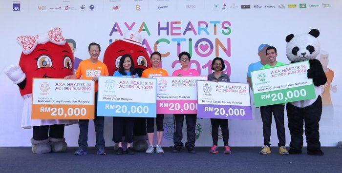 AXA Memperkasakan 6,500 Pelari Untuk Menyumbang RM100,000 Kepada 5 Badan Amal 2