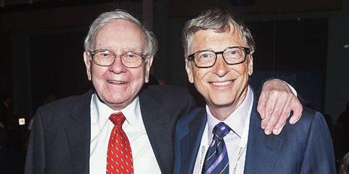 Selain itu juga, Bill Gates dan Warren Buffett merupakan billionaire self-made