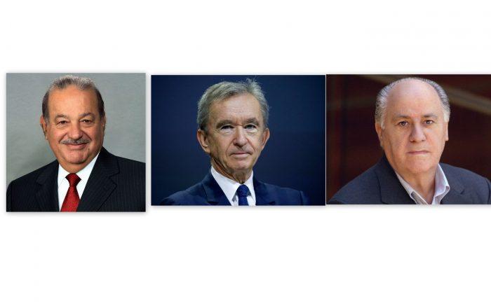 Tiga bilionaire yang bukan berasal dari Amerika Syarikat yang membina empayar perniagaan melalui hasil usaha mereka sendiri