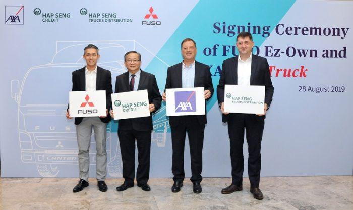 AXA Bekerjasama Dengan Hap Seng Trucks Dan Hap Seng Credit Dalam Pelancaran Insurans & Pembiayaan Kewangan Kenderaan Komersial Telematik Pertama Di Malaysia 2