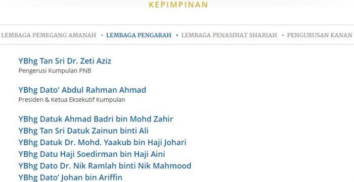 Jalil Rasheed Bakal Dilantik CEO Kumpulan Permodalan Nasional Berhad (PNB) 2