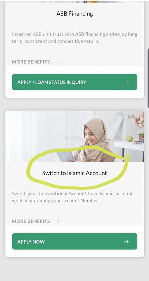 migrate akaun maybank konvensional ke islamik3 - Cara Mudah Nak Convert Akaun Simpanan Konvensional Maybank Ke Akaun Islamik, Buat Online Je