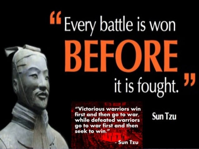 5 Strategi Sun Tzu The Art Of War, Yang Boleh Digunakan Dalam Pelaburan 4