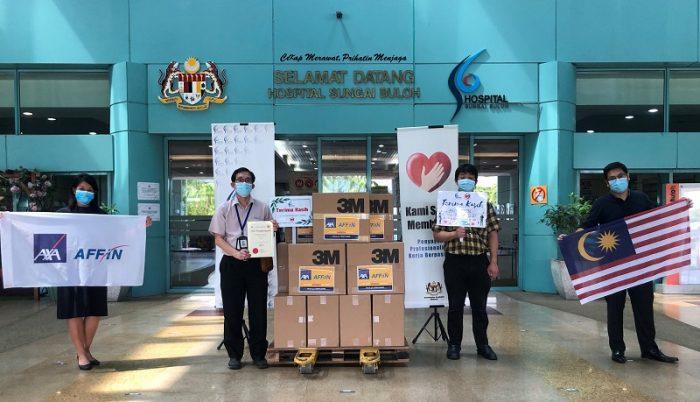 AXA AFFIN Life Insurance Menyumbang Lebih 15,000 PPE Untuk Membantu Melindungi Kakitangan Kesihatan Barisan Hadapan 2