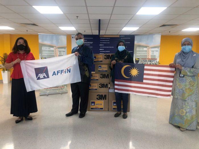 AXA AFFIN Life Insurance Menyumbang Lebih 15,000 PPE Untuk Membantu Melindungi Kakitangan Kesihatan Barisan Hadapan 3